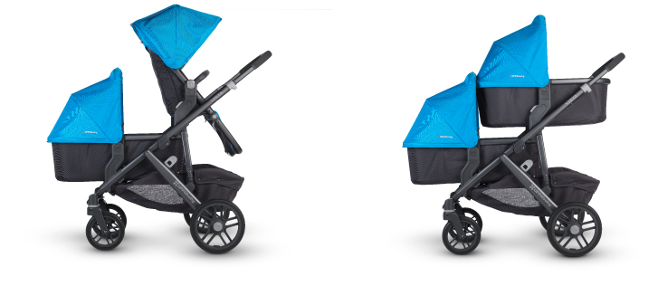 uppababy vista for two kids