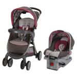 Graco FastAction Fold Click Connect Travel System under $200