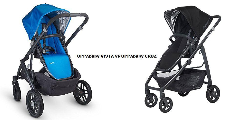 UPPAbaby VISTA vs UPPAbaby CRUZ
