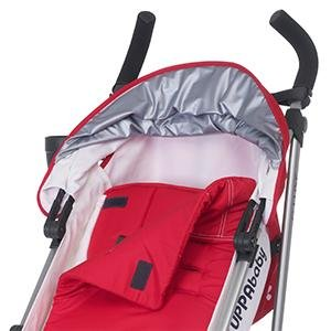 uppababy g-luxe removable fabrics and seat pad