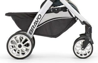 Chicco Trio Travel System - wheels and underseat basket