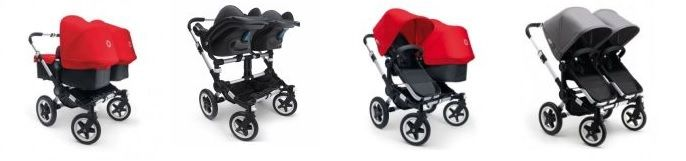 Bugaboo Donkey Twin and Duo