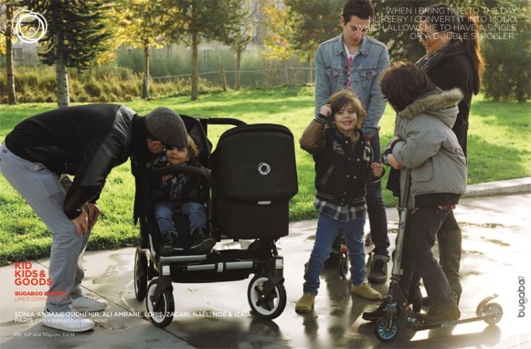 Bugaboo Donkey Twin grows with the family