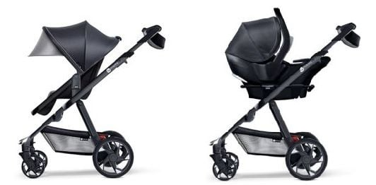 4Moms Moxi Stroller seating options