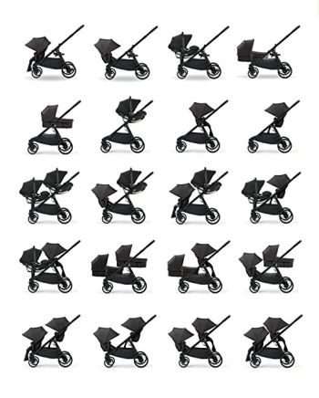 Baby Jogger 2017 City Select LUX seating options