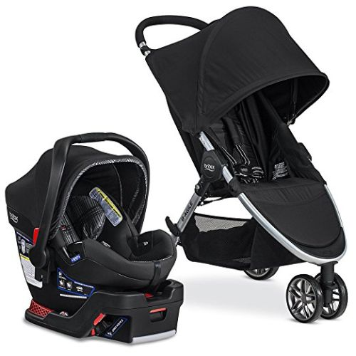 Britax 2017 B-Agile 3/B-Safe 35 Elite Travel System