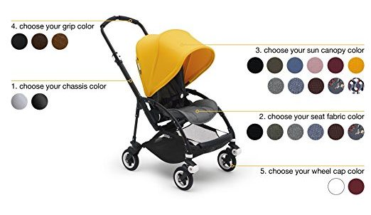Bugaboo Bee5 color options