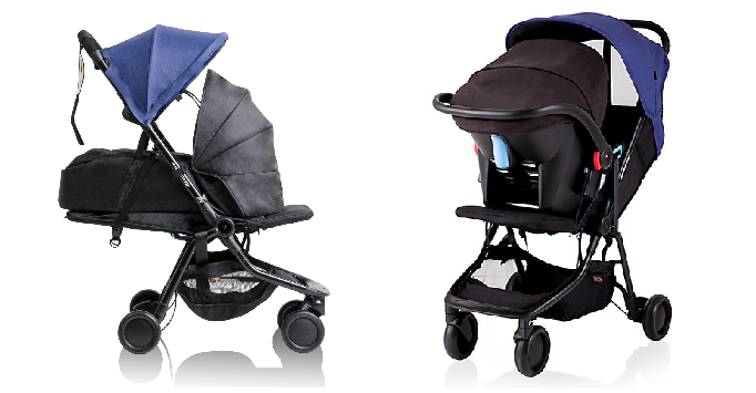 Mountain Buggy Nano 2017 is suitable for newborn