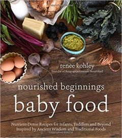 Nourished Beginnings Baby Food Nutrient-Dense Recipes for Infants, Toddlers and Beyond Inspired by Ancient Wisdom and Traditional Foods