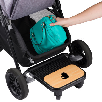 Evenflo Sibby Travel System large storage basket Cheap stroller with car seat