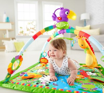 Fisher-Price Music and Lights Deluxe Gym for baby