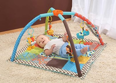 Infantino Twist and Fold Activity Gym for baby