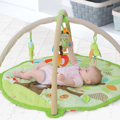 Skip Hop Baby Treetop Friends Activity Gym and Playmat