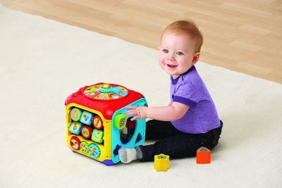 VTech Sort & Discover Activity Cube for baby